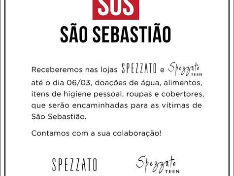 SOS SÃO SEBASTIÃO - Campanha Spezzat
