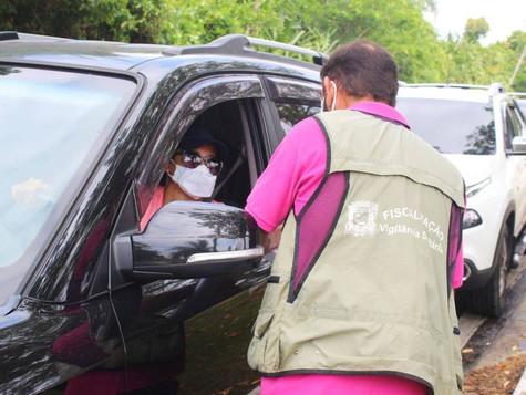 São Sebastião faz teste rápido de Covid-19 em turistas que chegam à cidade