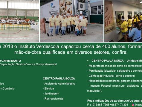 Instituto Verdescola - Qualificação Profissional