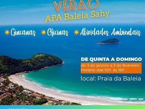 Convite - Verão Apa Baleia Sahy