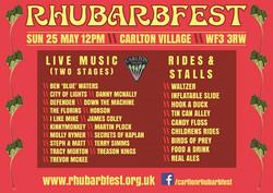 Rhubarbfest 2014