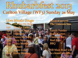 Rhubarbfest 2013