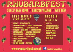Rhubarbfest 2015