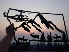 UH-1 Elk Montana
