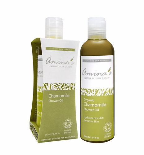 Amina's Organic Chamomile Shower Oil