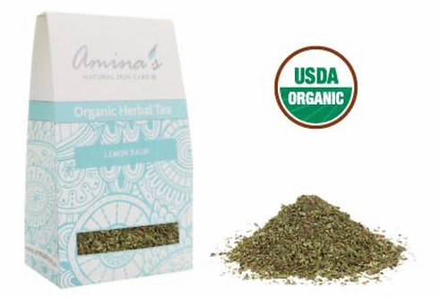 Amina's Organic Lemon Balm Herbal Tea