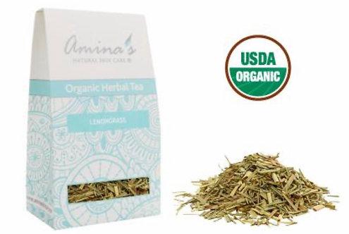 Amina's Organic Lemongrass Herbal Tea