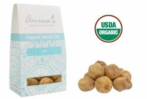 Amina's Organic Lime Herbal Tea