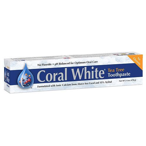 Coral White Toothpaste Tea Tree