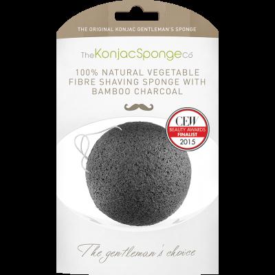 Konjac Gentlemen's Sponge with Bamboo Charcoal