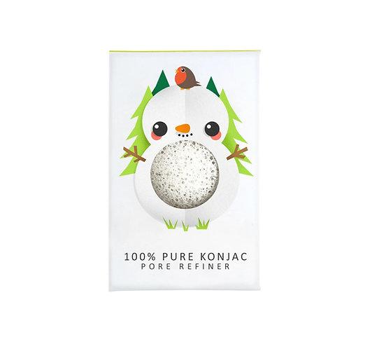 100% Pure Konjac Mini Pore Refiner Snowman
