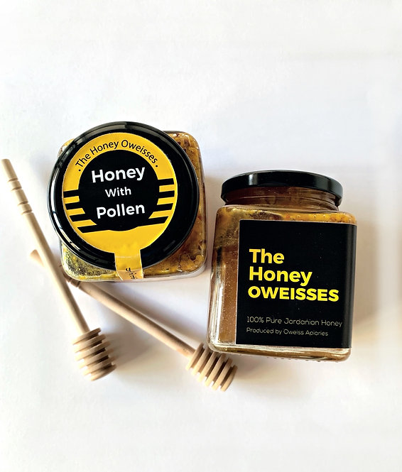 The Honey Oweisses Honey with Pollen
