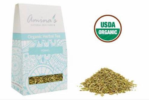 Amina's Organic Fennel Herbal Tea