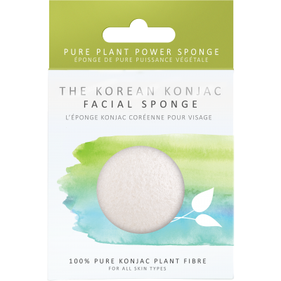 Konjac Facial Puff Sponge 100% Pure