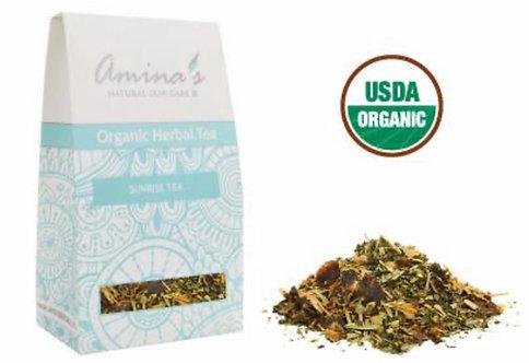Amina's Organic Sunrise Herbal Tea