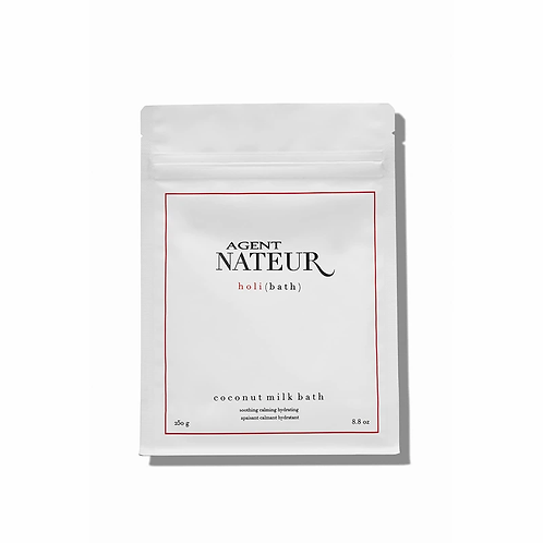 Agent Nateur holi ( b a t h ) soothing hydrating calming coconut milk bath