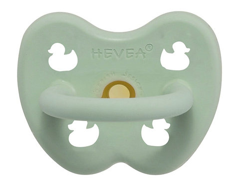 Hevea Pacifier, Mint Green