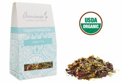Amina's Organic Sunset Herbal Tea