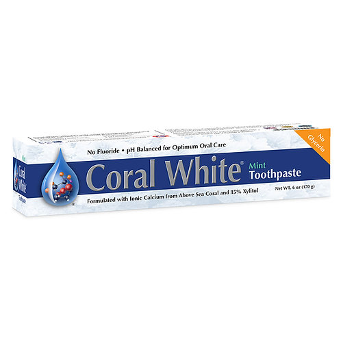 Coral White Toothpaste Mint