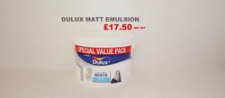 Dulux Matt Emulsion 7ltrs