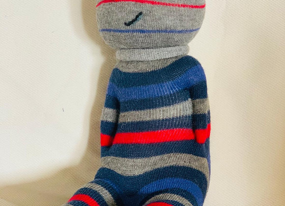 (L) Upcycled Sock Toys