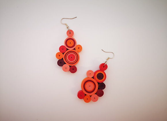 Quiling Earrings Paper
