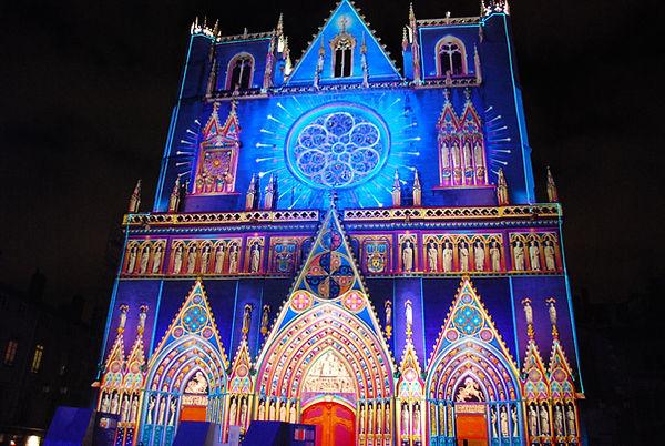 Saint-jean cathedral, old Lyon, France.j