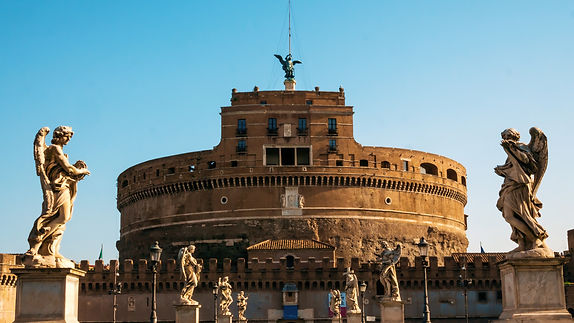 Castel Sant Angelo, located near the Va