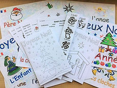 French Christmas Resources. Euroclub Sch
