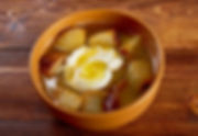 sopa de ajo , castilian garlic soup.farm