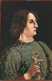 Piero_Pollaiuolo_Portrait_of_Galeazzo_Ma