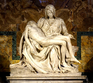 The Pieta by Michelangelo. Renaissance s