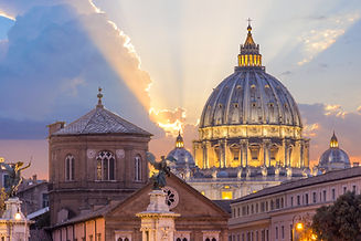 St peter's basilica in Rome,Vatican, the