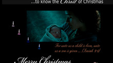 Christmas: Jesus Christ is the Light of the World