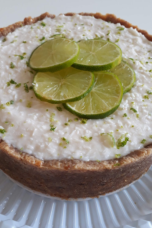 Torta Gelada de Coco com Limão