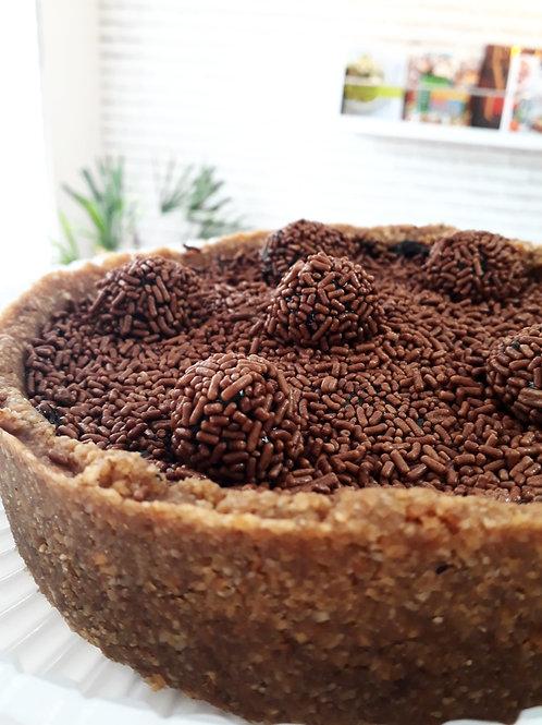 Torta Doce de Brigadeiro Sem Leite