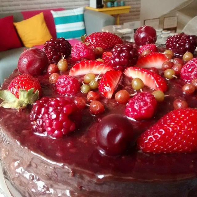 Frutas Vermelhas com Baunilha