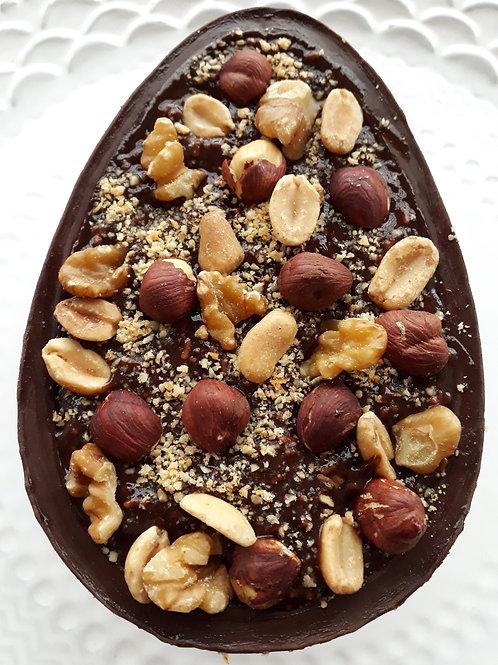 Ovo de Colher Cacau com Nuts Zero Açúcar -350g