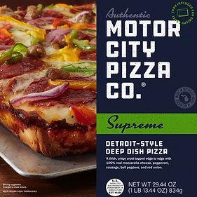 Motor City Pizza Co. | Supreme Box Front