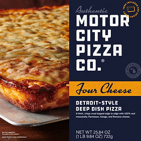Motor City Pizza Co.   Four Cheese Box Front