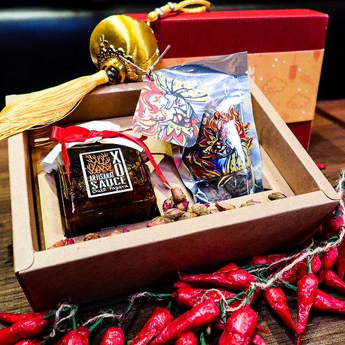 Artisanal Mid-Autumn Gift Set (XO sauce & Chinese Flower Tea)