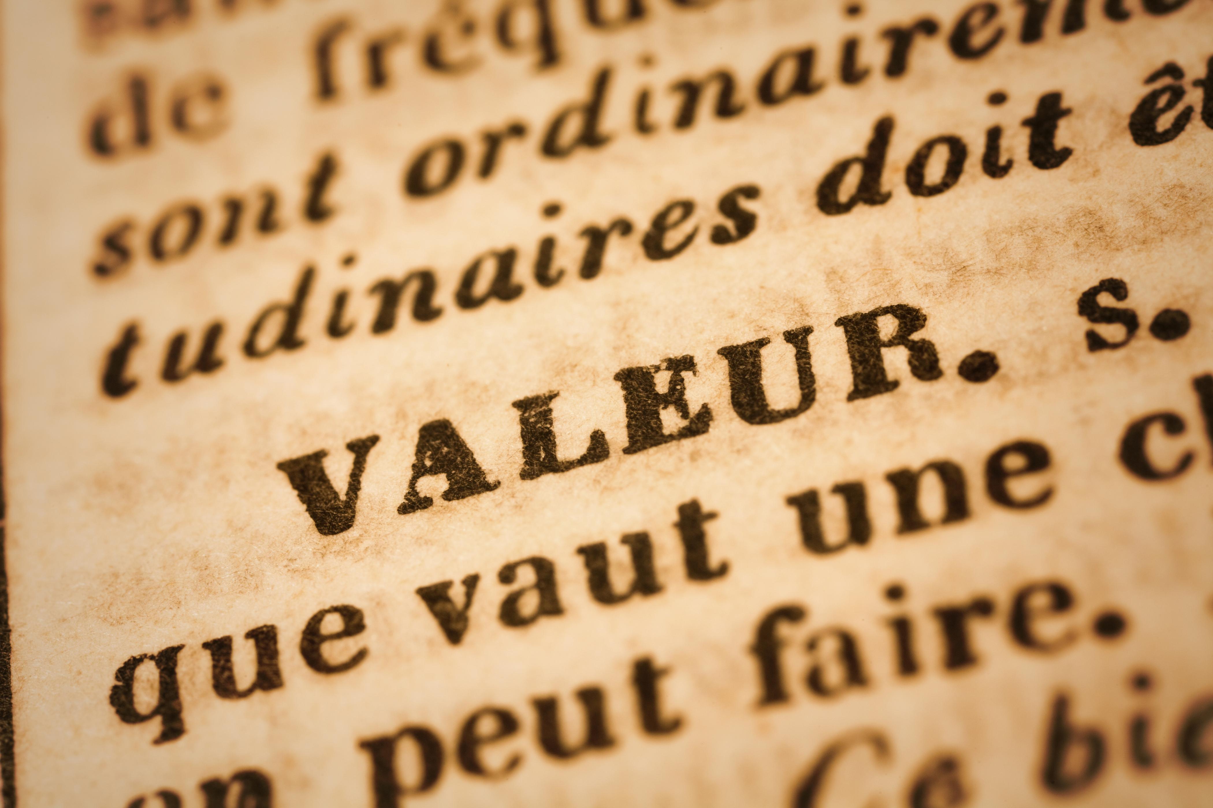 Nous créons de la valeur.
