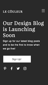 Bloggar & forum website templates – Blogg - kommer snart