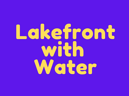 Lakefront Water