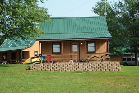 2 bedroom w/loft camping cabin