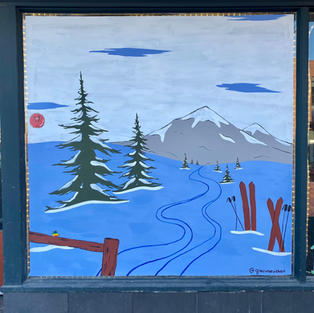 Northern Reflections Window Mural