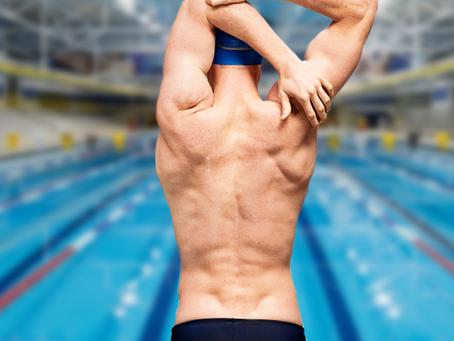 Dor no ombro do nadador