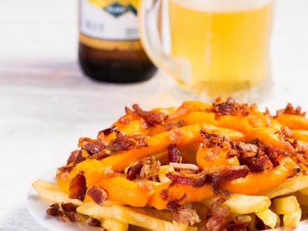 Canoa Bacon e Cheddar.