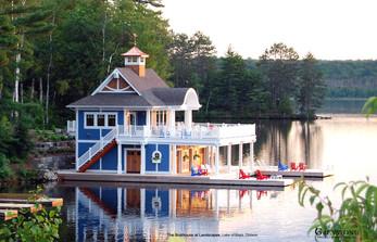 The Landscapes - Boathouse