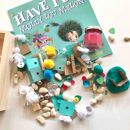 Have Fun, Molly Lou Melon Sensory/Nature Box